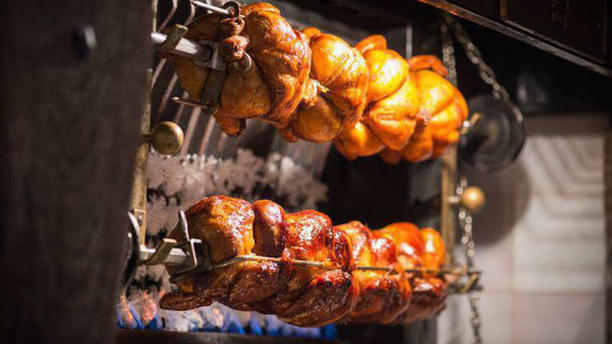 Rotisserie Scharrel en Schuim Suggestie van de chef