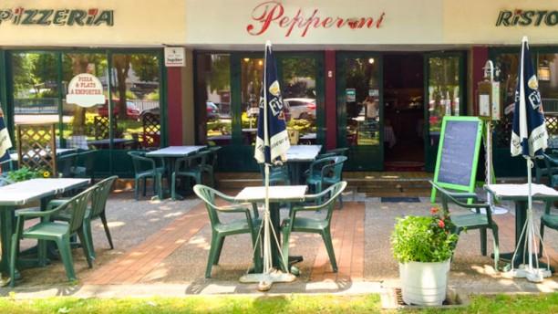 Pizzeria Di Pepperoni terrasse