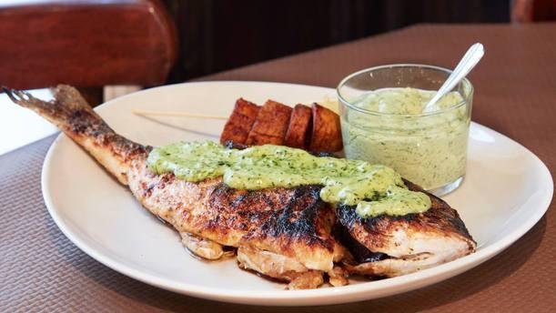 Malibu African Food plat