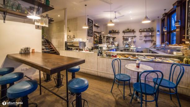 Po Boy café Salle du restaurant