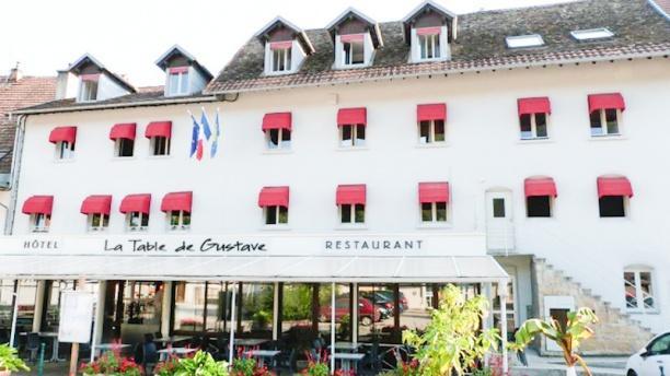 La Table De Gustave H Tel 11 Rue Jacques Gervais 25290 Ornans Adresse Horaire