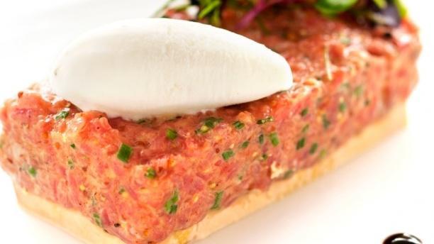 Freu - Hotel Guitart Monterrey Tartar de ternera con foie