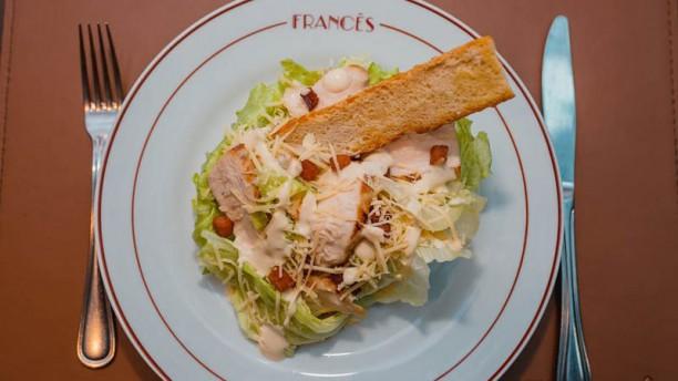 Francês Restaurante Sugestão prato