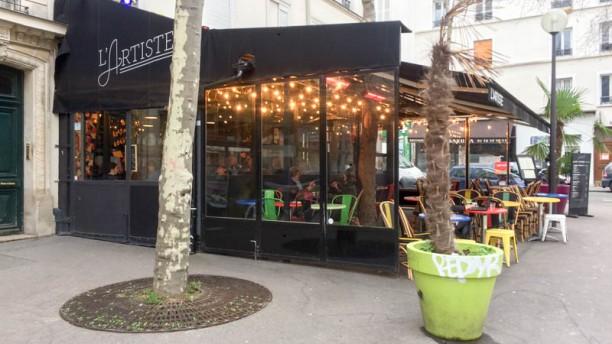 restaurant l 39 artiste paris 75011 bastille p re lachaise m nilmontant menu avis prix. Black Bedroom Furniture Sets. Home Design Ideas
