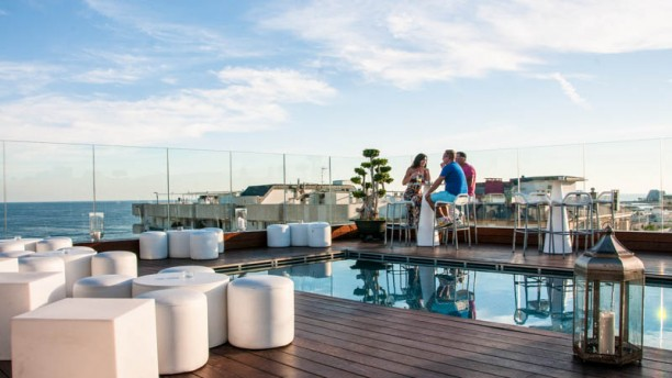 Sky Bar - Avenida Sofia Hotel & Spa vista terraza