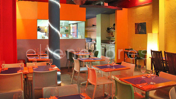 Mama Café Espacio acogedor
