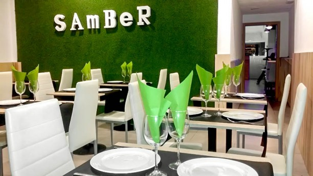 Samber - Atocha Vista de la sala
