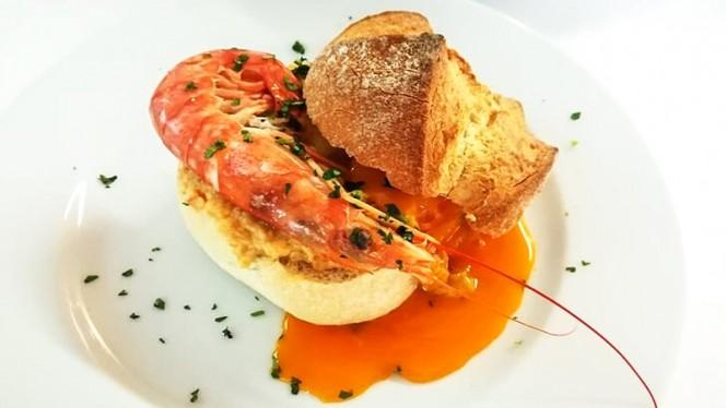Açorda de Gambas à CASA - A Casa Restaurante, Braga