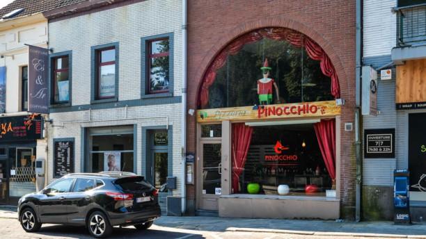Pinocchio Façade du restaurant