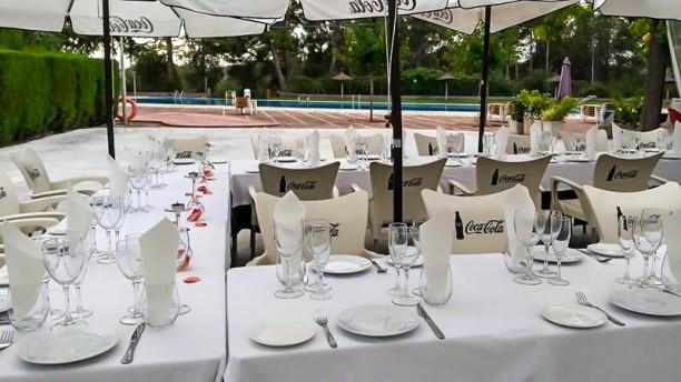 La Vinya de Pacs Vista terraza