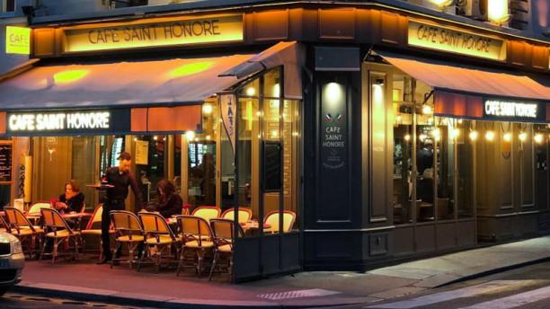 Café Saint Honoré Extérieur