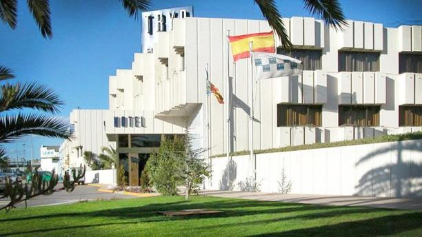 Azafata - Hotel TRYP Valencia Azafata vista exterior