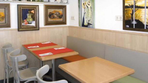 Platina Café Vista sala