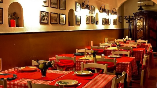La Cantina di Ciànna-Ciànne Sala del ristorante