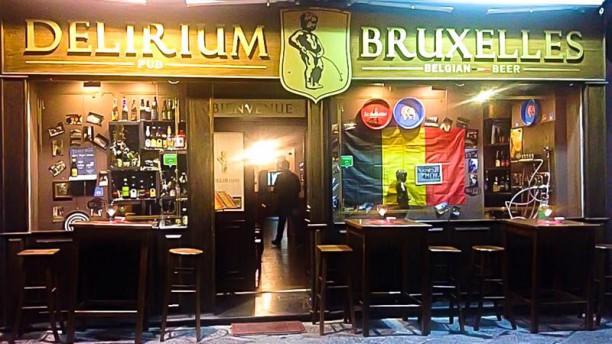Delirium Bruxelles Esterno locale