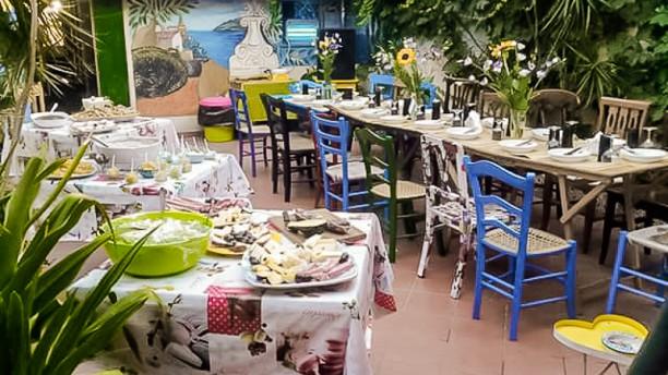 Frida e il cibo di strada Il giardino interno