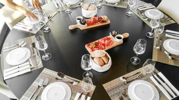 Charkoal Vista da mesa