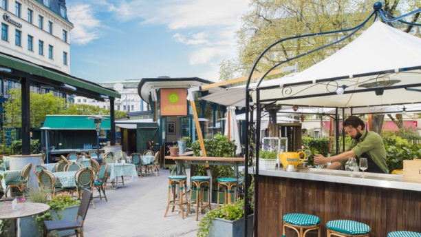Berns bistro & bar Terrace