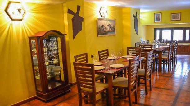 Mesón Rincón de Castilla Vista sala