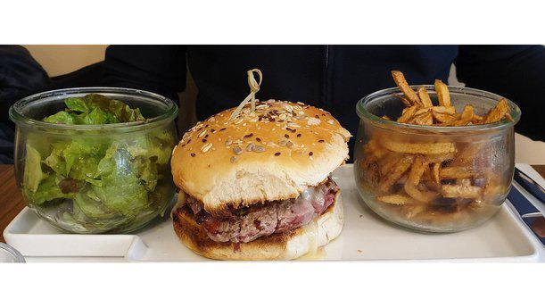 Le Dandy burger