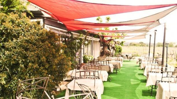 Le Clos des Vignes voile terrasse