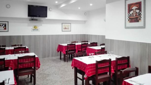 O Barriguinhas Sala do restaurante