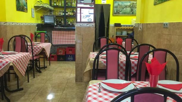 Arapona Sala del restaurante