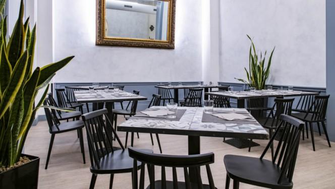 Vista sala - Le Arcate, Bologna