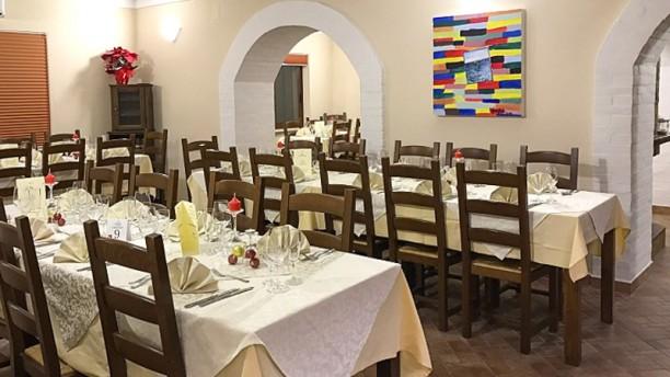 L'Antico Savuto Sala del ristorante