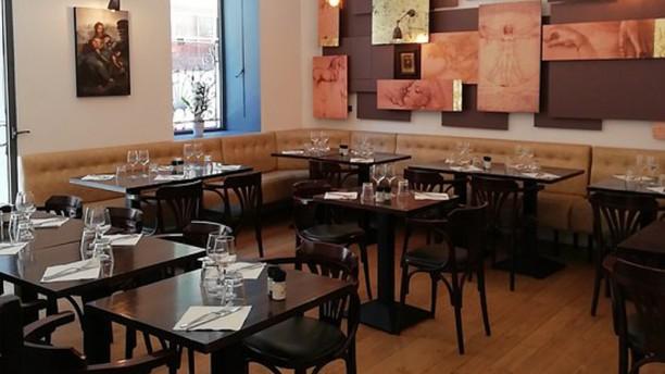 Le Da Vinci Salle du restaurant