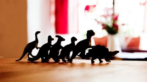 El Dinosaurio - Lavapiés Detalle decoración