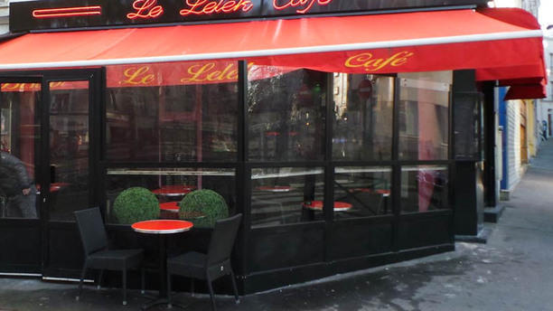 Le Lelek café Terrasse