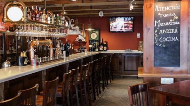 Taberna La Plaza Vista interior