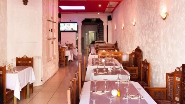Moharani Restaurant Salle du restaurant