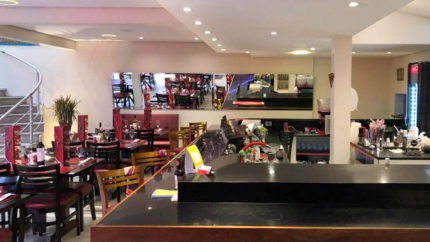 Lhama's Restaurante Vista sala