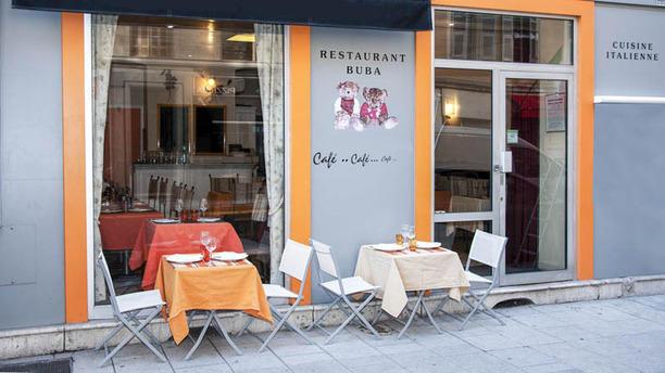 Restaurant Buba terrasse