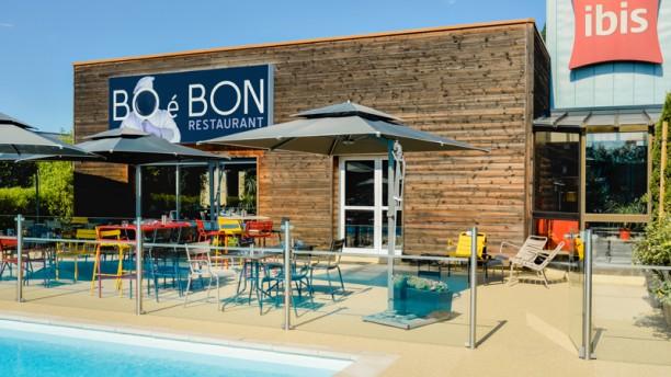 Bo é Bon Terrasse et piscine