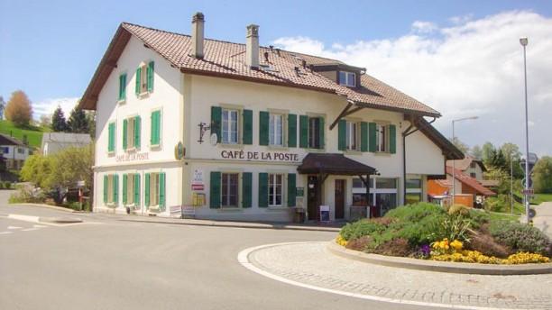 Café-Restaurant de la Poste Façade