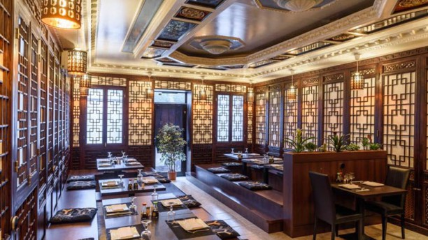 Hong Kong Oriental Kitchen Vista sala