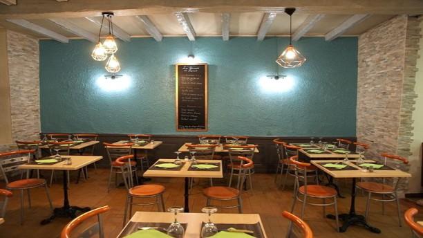 Les Gourmands de Saint-Just Salle du restaurant