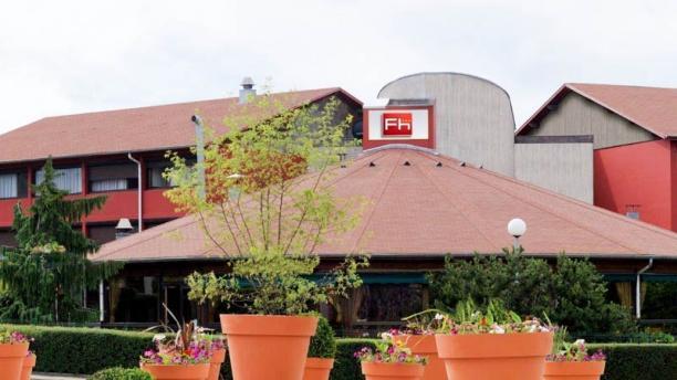 Restaurant Forum Hôtel Vue exterieur