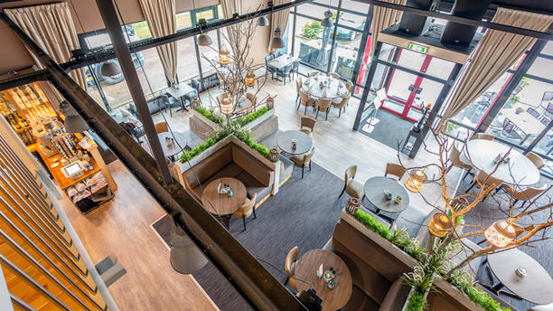 restaurant café  AanEen Restaurant