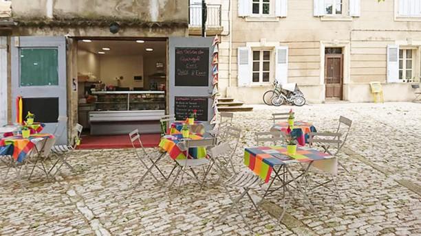 Les Délices du Portugal Vue de la terrasse