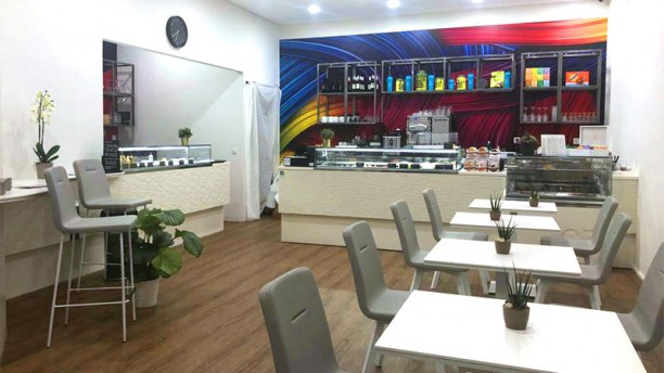 Ciao Restaurant - Eaux Vives Vue de la salle