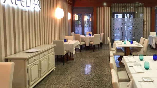Atelier Sala del restaurante
