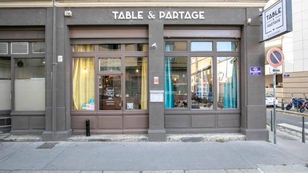 Table et Partage Entrée