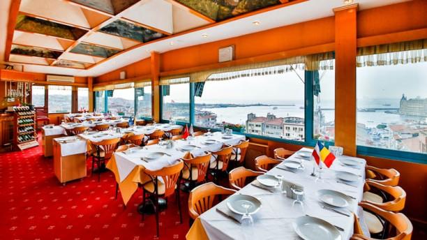 Sidonya Hotel Terrace dining room