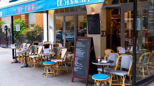 Café Zadig Terrasse