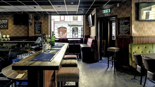 The Queen Restaurangens rum