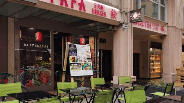 Fafa Sushi Burger Terrasse